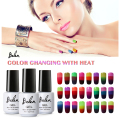Belen 3 in 1 Thermal Color Changing Nail Art Polish Soak Off UV LED Gel Lacquer Gel Polish Chameleon Salon Soak Off Nail Art 7ml