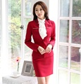 Novelty Formal Uniform Styles Female Skirt Suits Professional Spring Autumn Business Jackets And Skirt Ladies Blazers Outfits