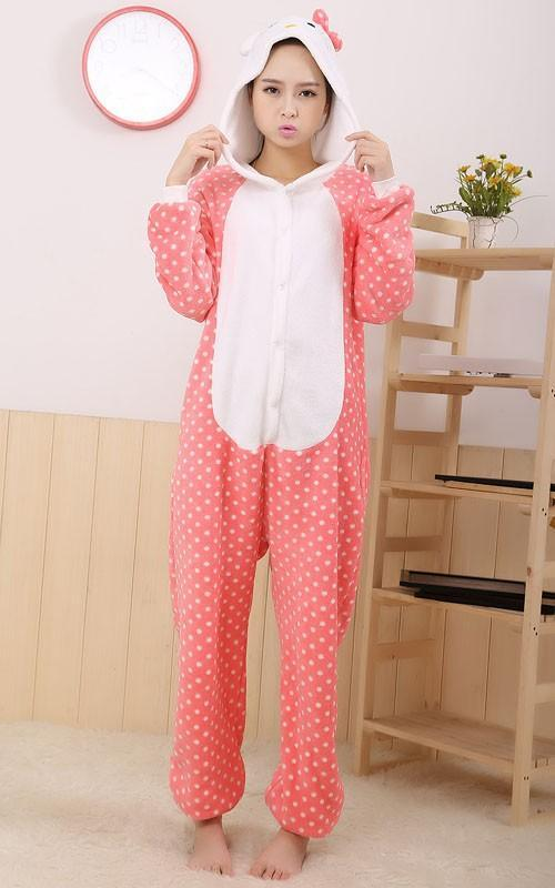 487dcef54f New Unisex Adult Flannel Pajamas Animal Pyjama Suits Cosplay Adult ...