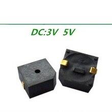 СМД зуммер SMD активный зуммер 3 V 5 V HN9650B Размер 9,6*9,6*5 мм