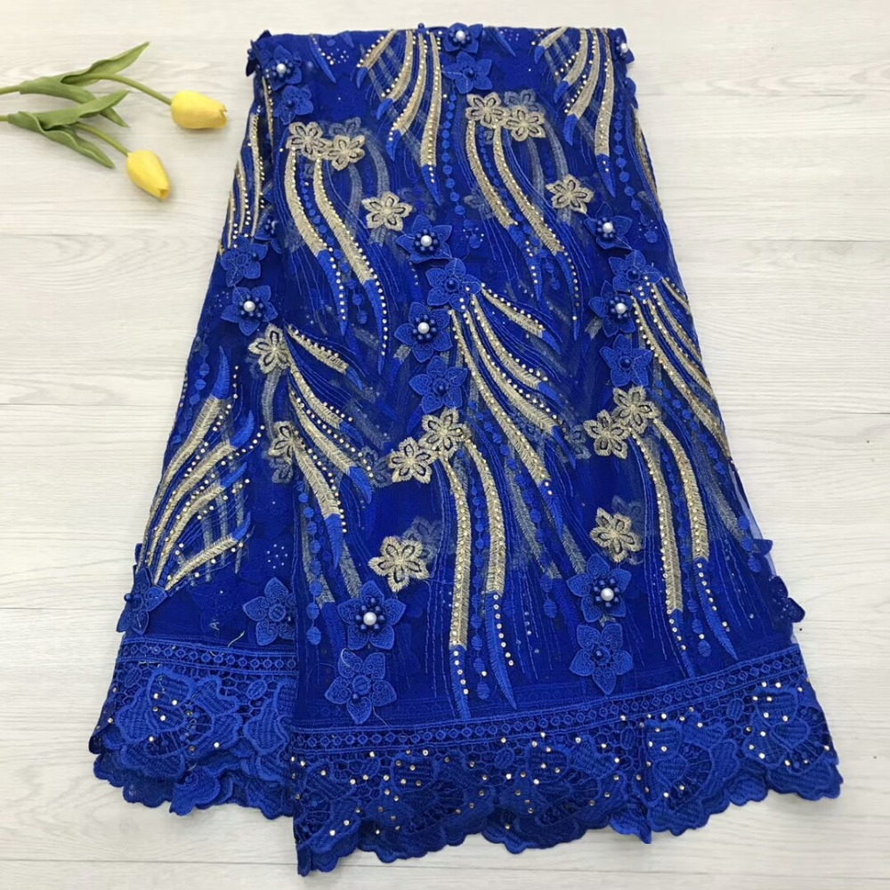 Beautiful appliqued lace fabric good quality african net tulle lace fabric with beads for dress  jyoc122Beautiful appliqued lace fabric good quality african net tulle lace fabric with beads for dress  jyoc122
