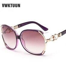 VWKTUUN Mariposa de Gran Tamaño gafas de Sol de Las Mujeres Diseñador de la Marca Gafas de Sol Mujer Gafas de Sol UV 400 Gafas De Sol Gafas