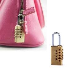 Мини 4 цифры номер пароль кодовый замок Комбинации Замок Сбрасываемый для саквояж дверь Популярных