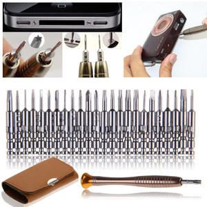 Mini Precision Screwdriver Set 25 in 1 Electronic Torx Screwdriver Opening Repair Tools Set for iPhone Camera Watch Tablet PC