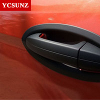 For Ford Ecosport 2014 2015 2016 Accessories Black Handle Bowl Surrounds Trim Suitable FORD ECOSPORT 2014