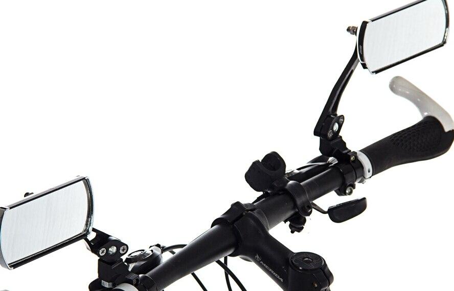 Spiegel Voor Fiets : Stks partij fiets achteruitkijkspiegel classic fietsen rechthoek