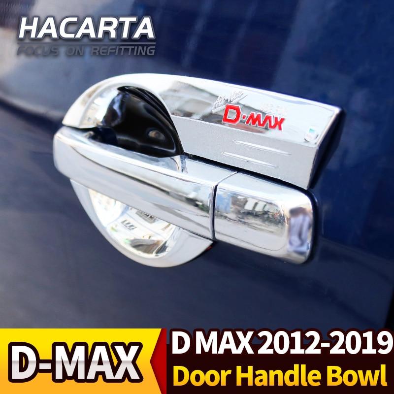 4 DOOR CHROME HANDLE INSERT BOWL FOR 4 DOOR ALL NEW ISUZU DMAX D-MAX 2012 TRUCK