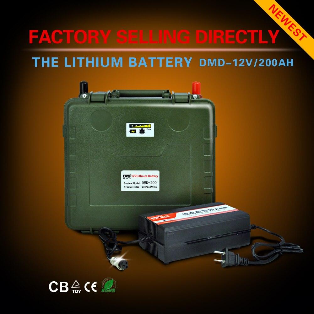 Автомобильная аккумуляторная батарея 12 v 200ah для солнечной системы с msds Бесплатная доставка