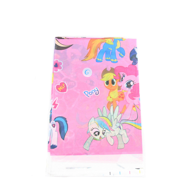 Aliexpress buy 1pcs horse theme cartoon plastics tablecloths 1pcs horse theme cartoon plastics tablecloths kids baby shower happy birthday for boy girl gift party negle Choice Image