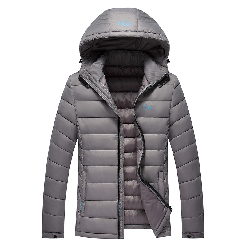 ФОТО Q-IMAGE 2016 New Winter Jacket Men High Quality Down Cotton Men Clothes thickening cotton-padded Jacket Coats Plus SizeM-3XL
