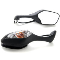 Black Mirrors + Turn Signal For 2008 2009 2010 2011 2012 2013 Honda CBR 1000 RR / CBR1000RR VFR 1200 VFR1200 2010 2011 2012