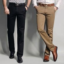 Mwxsd brand Autumn men's Casual cotton long pants Male slim fit straight suit Pants Army Pants khaki tactical pants Trousers