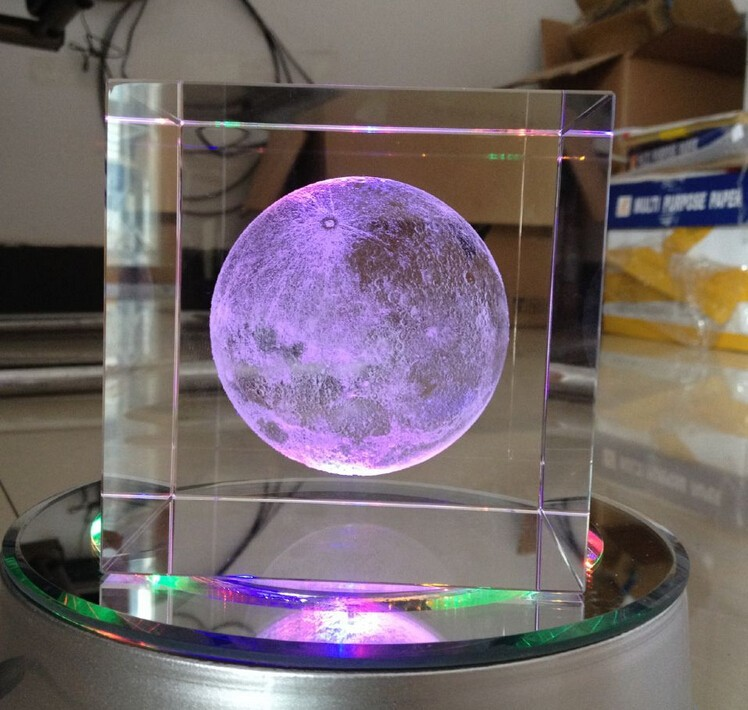 Home Decorators Collection Coupon Free Shipping: Free Shipping Beautiful Design Crystal 3D Laser Moon Cube