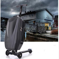 2016 NEW Fashion Brand Micro Scooter Skateboard Luggage Suitcase With Scooter