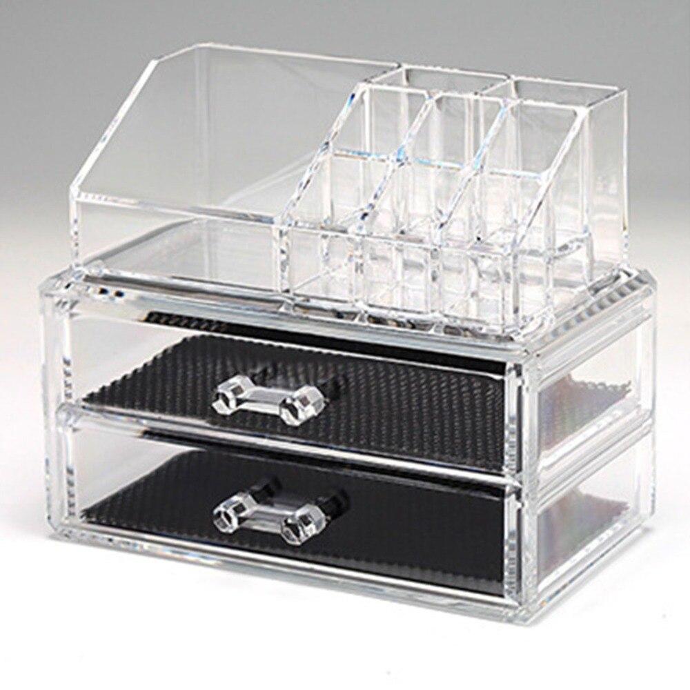 High Quality Bijou Transparent Acrylic Makeup Organizer Drawer Cosmetic  Case Storage Holder Box Organizador Rangement Maquillage In Storage Boxes U0026  Bins ...