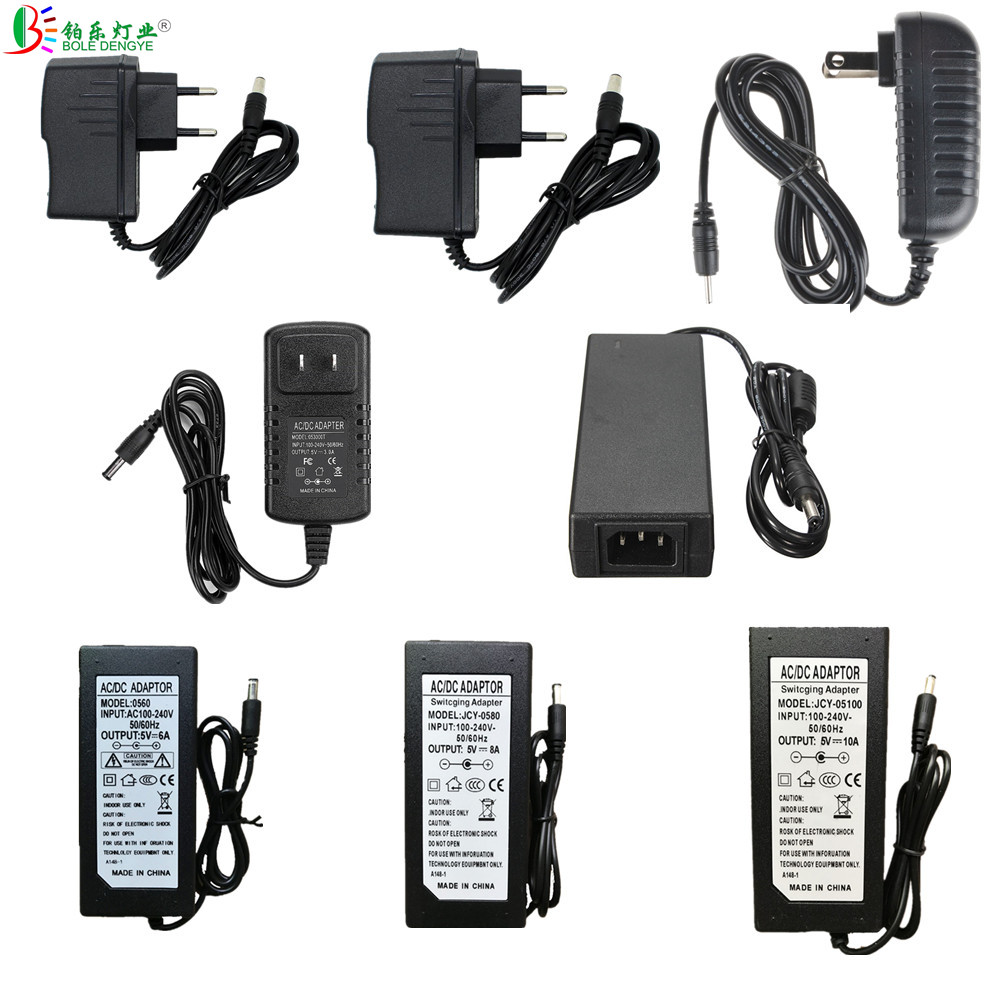 5V 12V 24V LED Power Adapter AC 220V To DC LED Transformer 1A 2A 3A 5A 6A 8A 10A LED Driver 60W 100W 120W Switching Power Supply 24v 8 5a power supply waterproof ip67 adapter ac 96v 240v transformer dc 24v 200w ac dc led driver switching power supply ce fcc