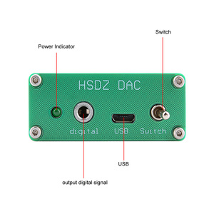 Image 2 - AIYIMA Mini Headphone Amplifier PCM2706 HIFI Audio Decoder DAC USB Sound Card TDA1305DAC Headphone Amplifiers Amplificador DIY