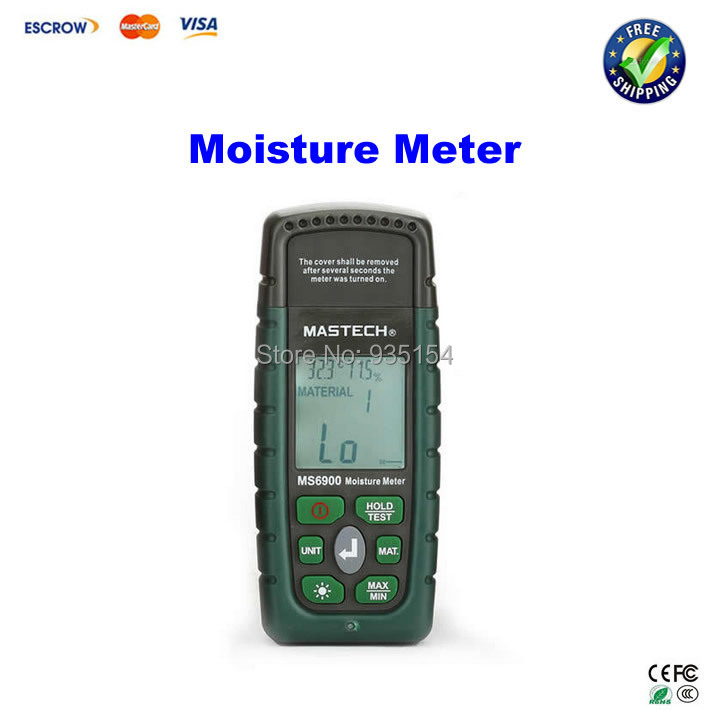 цены  Digital Wood Timber Moisture Meter/tester Mastech MS6900