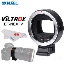 Viltrox EF-NEX IV Autofokus-objektiv Adapter für Canon EOS EF Ef-s-objektiv Sony NEX E Vollformat A9 A7 A7II A7RII A7SII A6500 A6300
