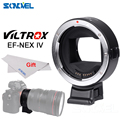 Viltrox EF NEX IV Autofokus objektiv Adapter für Canon EOS EF Ef s objektiv Sony NEX E Vollformat A9 A7 A7II A7RII A7SII A6500 A6300-in Objektiv-Adapter aus Verbraucherelektronik bei