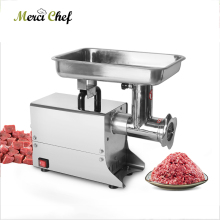 где купить ITOP 80kgs/h ELectric Meat Grinder  Stainless Steel Meat Mincer Food Chopper Sausage Filling Machine Commercial Food Processors дешево