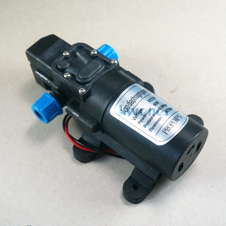 DC 24V 60W Diaphragm Water Pump Self-priming Booster Pump with Pressure Automatic Switch Flow 300L/H for Garden sprinklers
