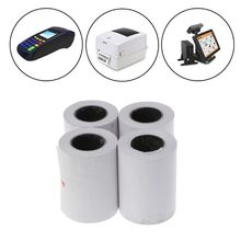4Pcs Thermal Paper 57x50mm Thermal Receipt Paper POS Cash Register Receipt Roll For 58mm Thermal Printer