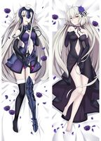 Free Shipping Japanese Anime hugging pillow case (Peach Skin 74067 Fate/Grand Order Jeanne d'Arc (Alter)