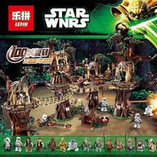 DHL Lepin 05047 Star Toys Wars Compatible Legoing 10236 Ewok Village Wars Set Building Block Bricks Kids Toys Christmas Gifts(China)