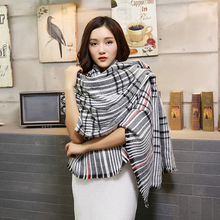 Ideacherry Hot Sales Winter Scarf 2016 Tartan Scarf Women Plaid Scarf Cuadros New Designer Unisex Acrylic Basic Shawls Warm Bufa