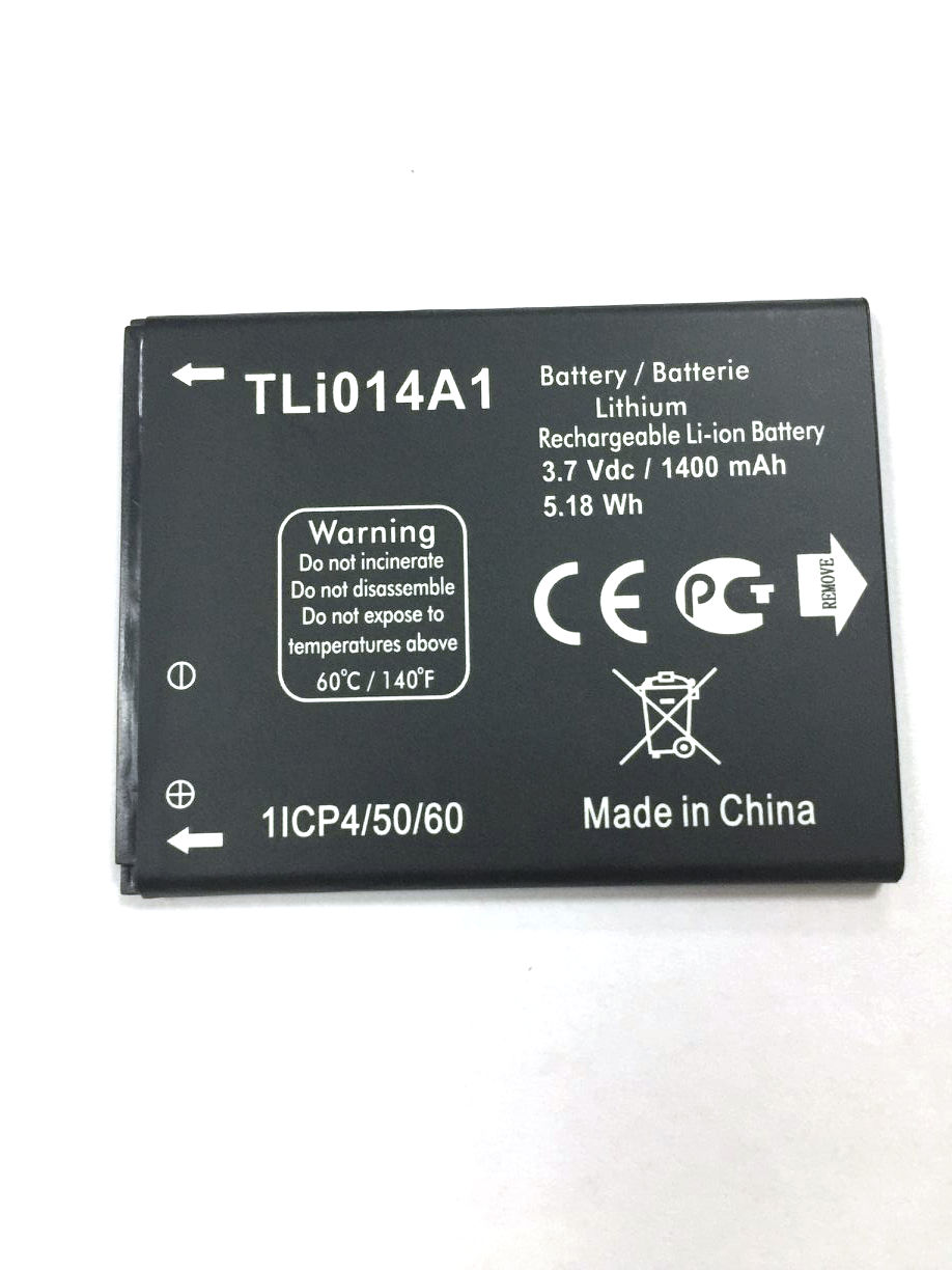 New 1400mAh original Battery TLI014A1 For Alcatel ONE TOUCH OT 4010 4010 OT  4030 4030 Cell Phone Batterie Batterij Bateria-in Mobile Phone Batteries  from ...