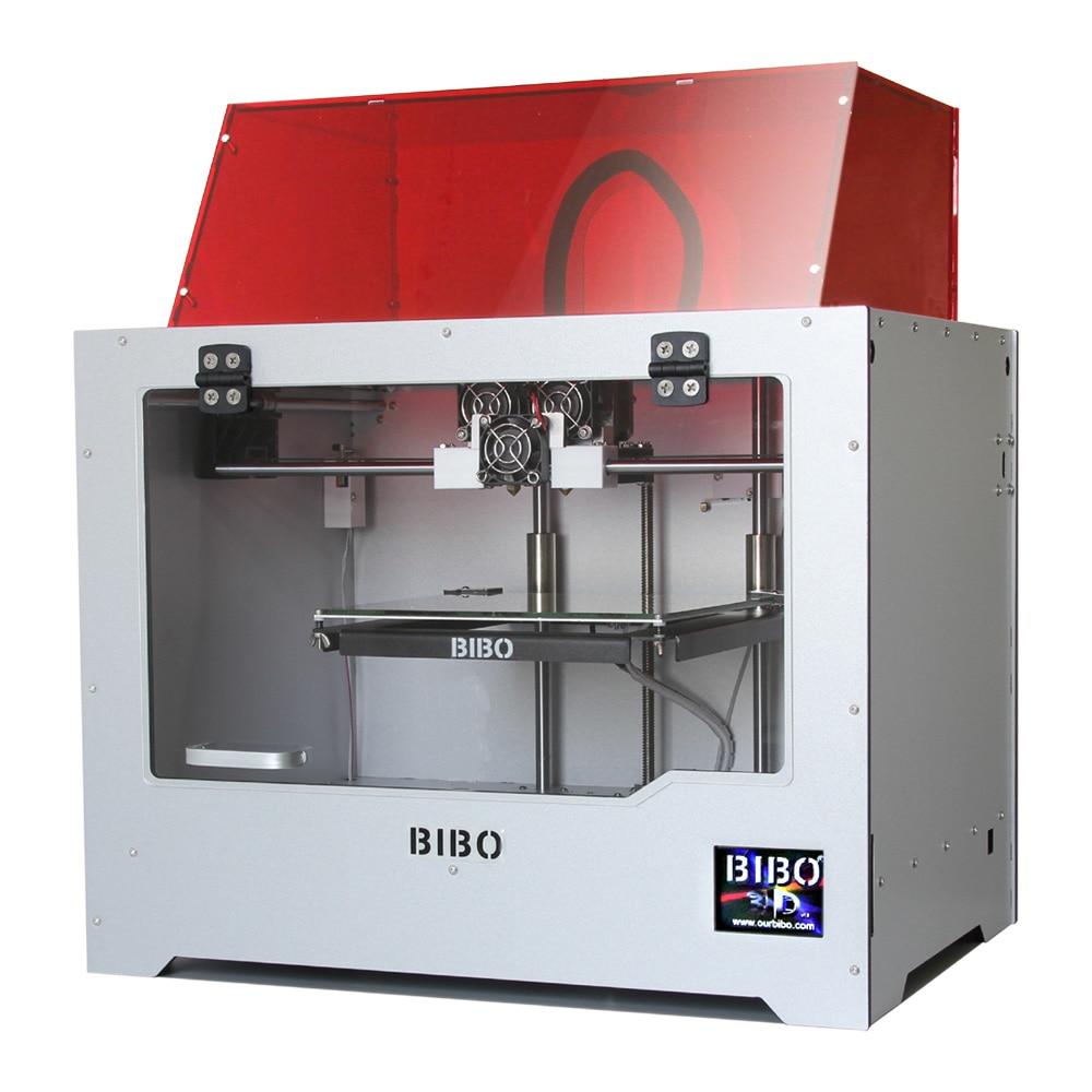 BIBO 2 3D Printer Cut Printing Time In Half Sturdy Frame Dual Extruders Print Multiple Materials