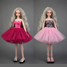 40-50cm 1/4 BJD Doll Suit Evade Glue Cheongsam Dress For BJD SD Doll Accessories Coat  Clothing Many Colors Toy Gift For Girl