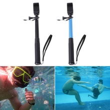 Extendable Wired Selfie Stick Holder Remote Shutter Monopod For Phone Gopro Hero