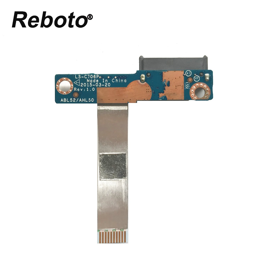 Reboto original For HP 15-AC 15-AF 15-AR 250 G4 Optical Drive Interface Board LS-C706P 100% Tested Fast Ship(China)