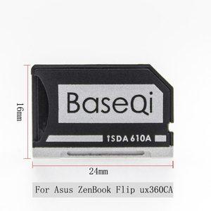 Image 2 - BaseQi smart card reader card pcmcia Micro SD Card 어댑터 대 한 Asus ZenBook Flip ux360CA compact flash 어댑터 mercedes benz xqd