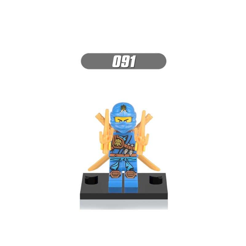 Único Legoing Ninjaing Bonecas Cole Jay Kai Zane Sensei Wu Nya Lloyd Garmadon Pythor Chen Nadakhan Blocos de Construção de Brinquedos para Crianças