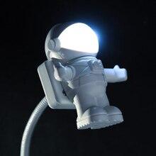 Bureau Lampen Lichten Litwod Nieuwe Mode Nieuwigheid Romantische Baby Led lampen Usb poort Dc Hars Knop Switch Wedge Night Plug astronauten