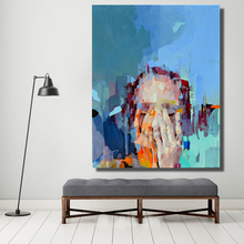 When Silence happens in the Marketplace Oil Painting Canvas Painting Wall Pictures for Living Room posters Pop Art shirlee mccoy when silence falls