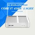 XCY Mini Jogo de Computador 4010U I3 I5 4200U I7 4500U 8G RAM ddr3 128g ssd msata mini desktop caso pc mini pc computador desktop pc