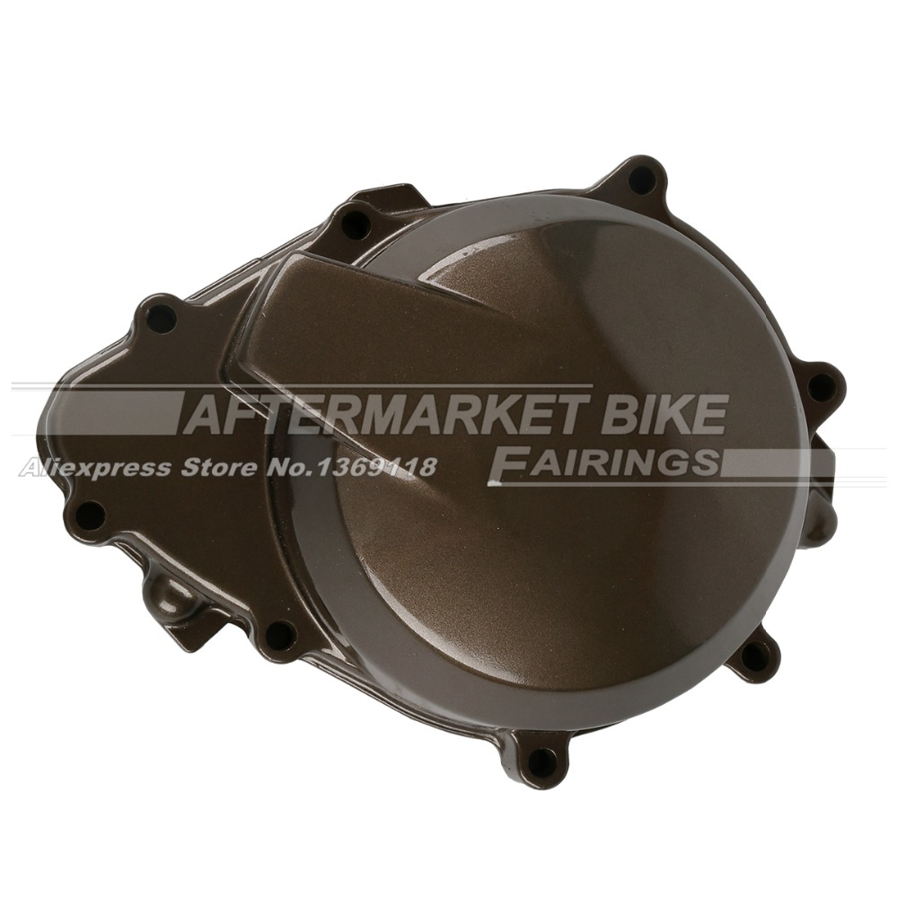 Motorcycle LEFT Crankcase For KAWASAKI ZX6R ZX636 2005 2006 Engine Stator Crank Case Generator Cover fast shipping 6 5kw 220v 50hz single phase rotor stator gasoline generator diesel generator suit for any chinese brand