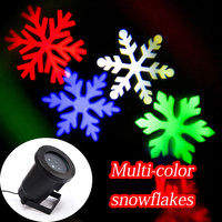 Replaceable LED Projector Light Christmas Lights Outdoor Laser Projector Light Garden Party Lights With EU US