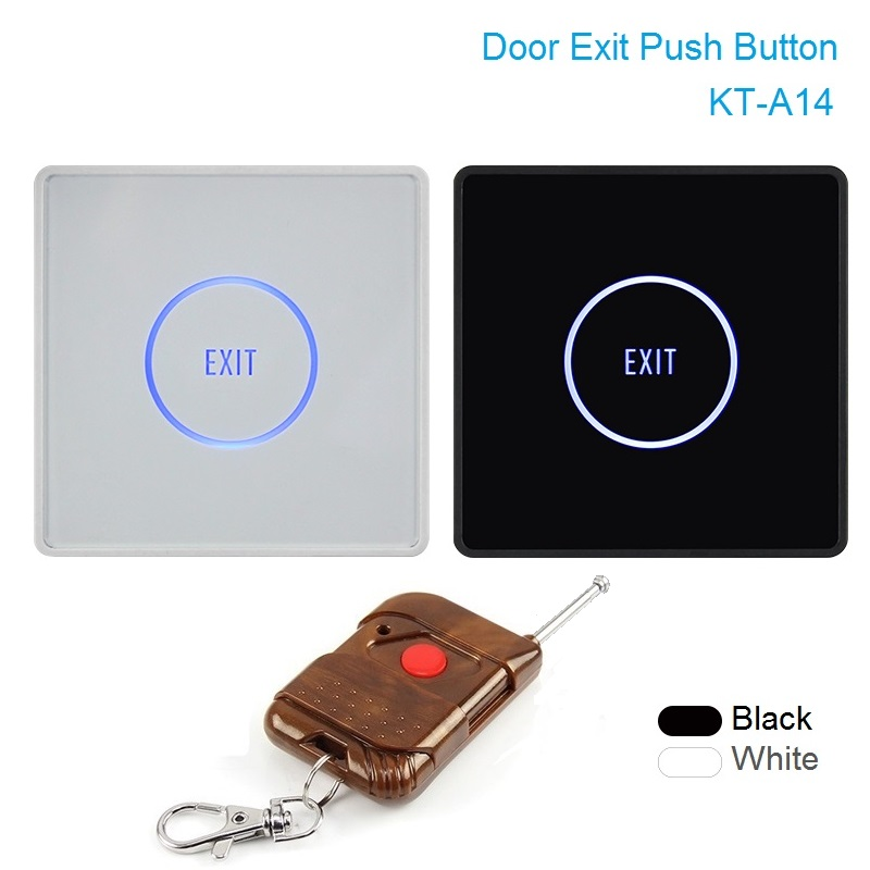 Touch Exit Button Remote Control Infrared Sensing Surface Plexiglass Waterproof LED Indicator Exit Switch Access Control system pair of vintage faux turquoise bead owl shape earrings