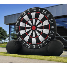 4 Meter Huge High Inflatable Football Dart Board Soccer Outdoor Sports Games Inflatable Dart Board Game With 220V Air Blower