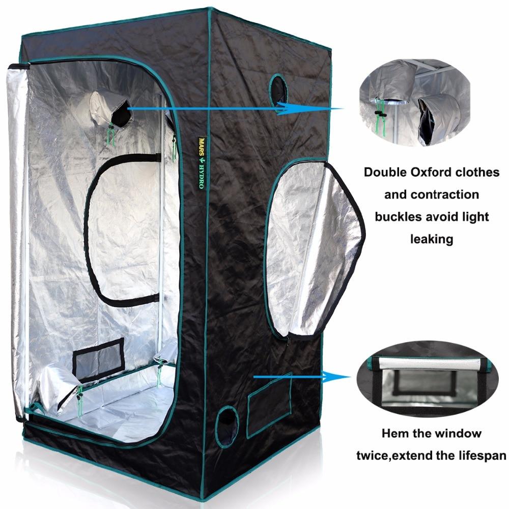 1680D Marshydro Grow Tent/Box 120*120*200 cmfor Hydroponics, Indoor LED Grow System