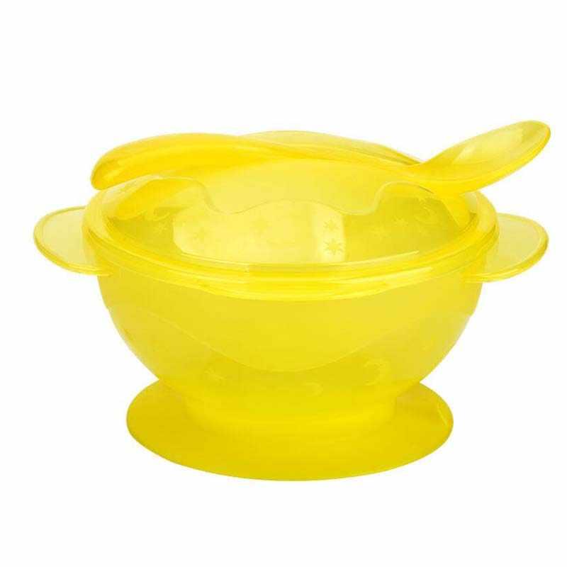 Platos con ventosa de silicona para niños, vajilla de succión para niños, plato para bebé, plato de comida de silicona antideslizante, Bol para bebés para alimentar a niños pequeños
