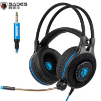 Sades SA936 3 5mm Wired Gaming Headset 2016 New Xbox One Gaming Headphones With Microphone For