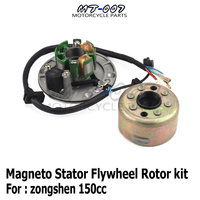 Original Magneto Stator Flywheel Rotor motor kit For Zongshen ZS150 155z 160cc Engine Dirt Pit Bike Monkey Bike parts