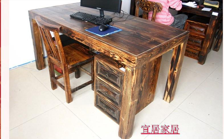 American Retro Custom Handmade Wood Rural Countryside Combination Computer Desk Pine Work On Aliexpress Alibaba Group