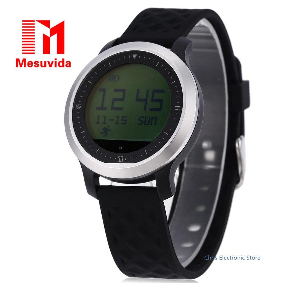 imágenes para Mesuvida IP68 a prueba de agua reloj inteligente F69 llamada mensaje smartwach android y ios podómetro sleep monintor health tracker